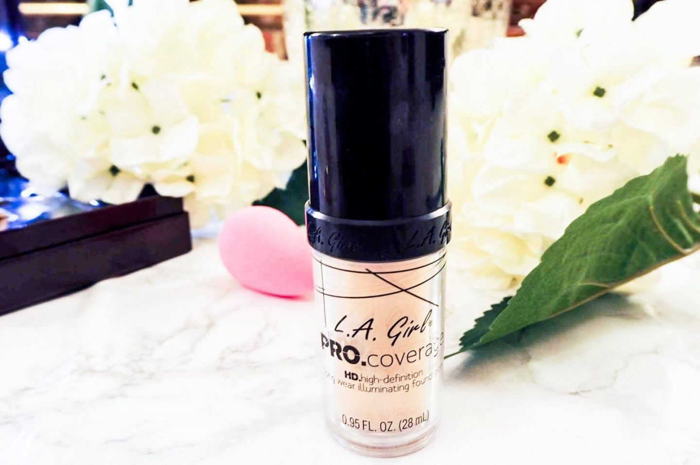 Review La Girl Procoverage Illuminating Foundation Butterfly Culture Pro Coverage Hd Porcelain