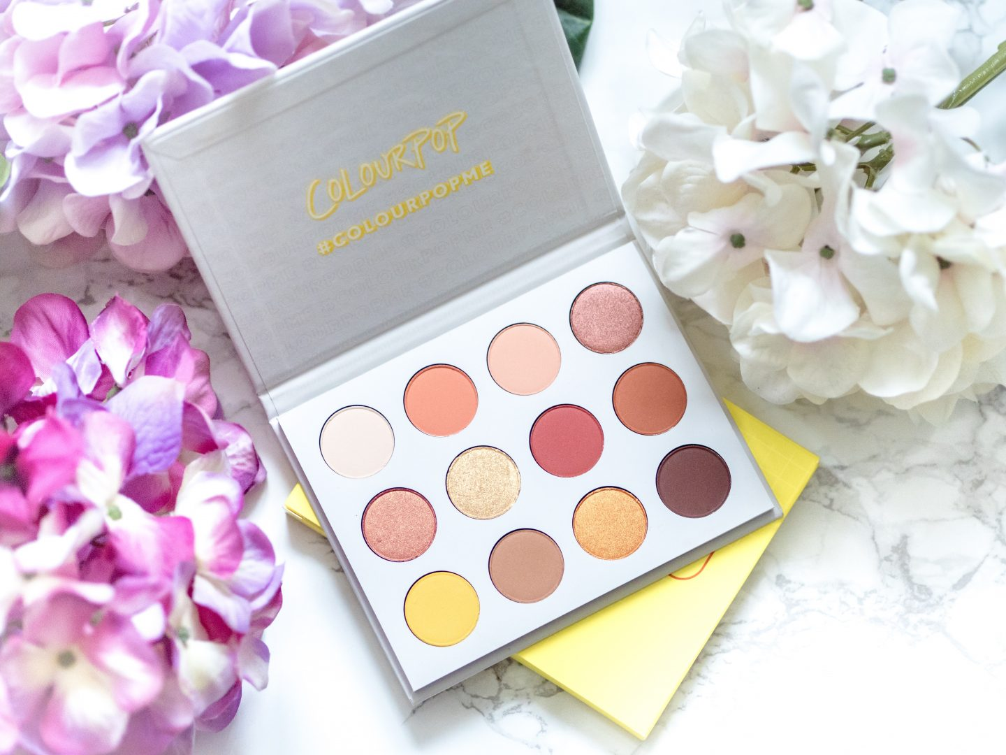 Colourpop yes please Palette giveaway